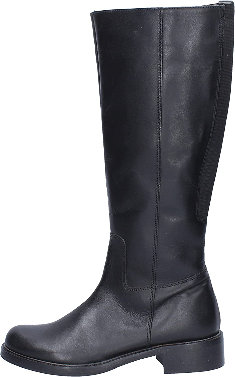 KEYS Boots Womens Leather Black