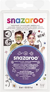 Snazaroo Face Paint 18ml Clam Pack Color - Purple