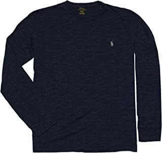 Polo Ralph Lauren Men's Long Sleeve Pony Logo T-Shirt - XX-Large - Gentian Blue Heather