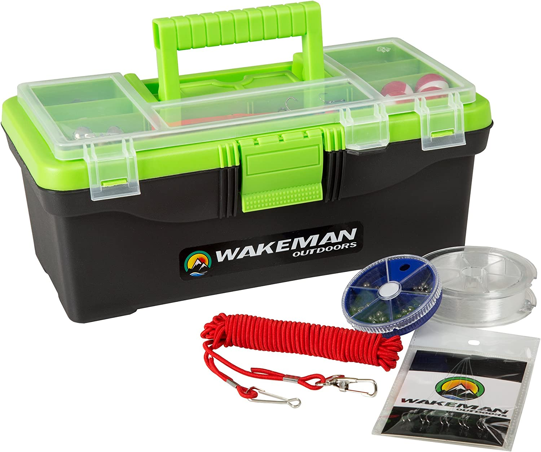 Fishing Single Tray Tackle Box- Piece Gear Kit 55 half Philadelphia Mall Include