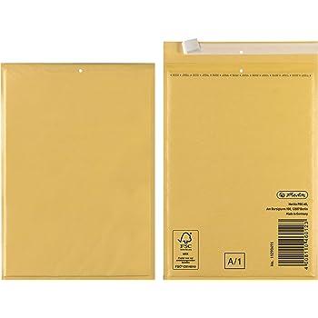 1000 Luftpolsterumschl/äge 140 x 225 mm verschiedene Mengen w/ählbar Luftpolstertasche B2 braune Versandtasche DIN A6+
