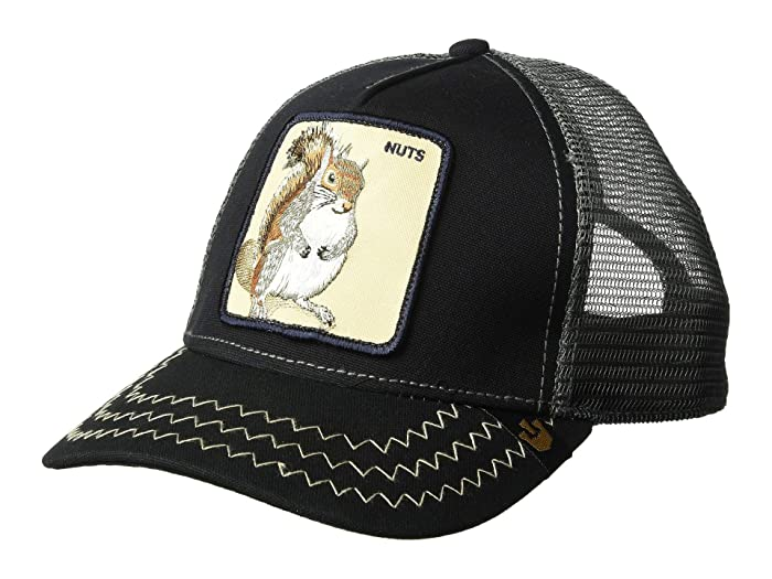 Goorin Brothers  Animal Farm Snap Back Trucker Hat (Navy Squirrel Master) Caps