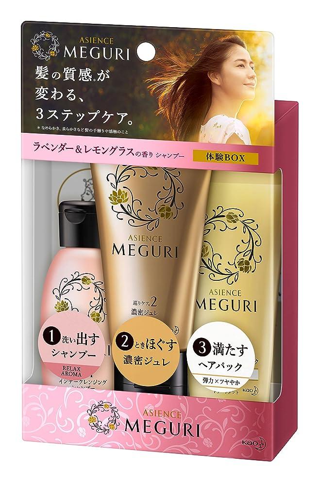 ドメインすごい決定的【ミニセット】アジエンス MEGURI 体験BOX RELAX 145g