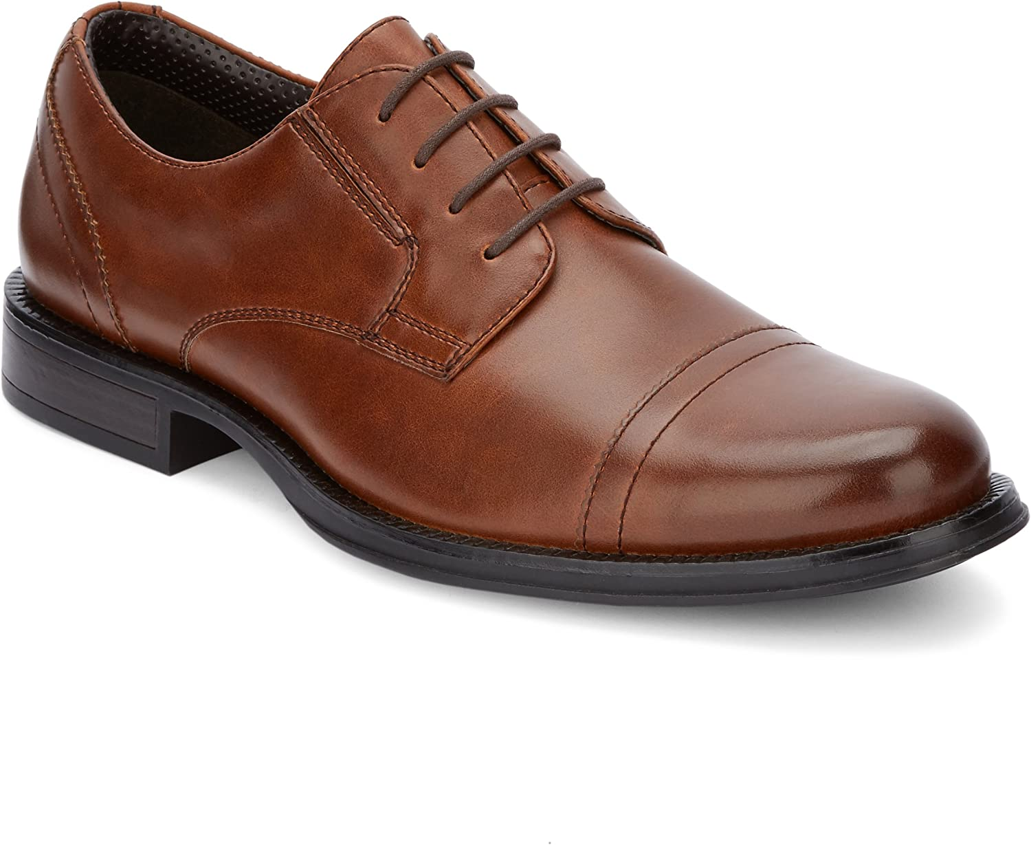 Dockers Mens Garfield Dress Cap Toe Oxford shoes