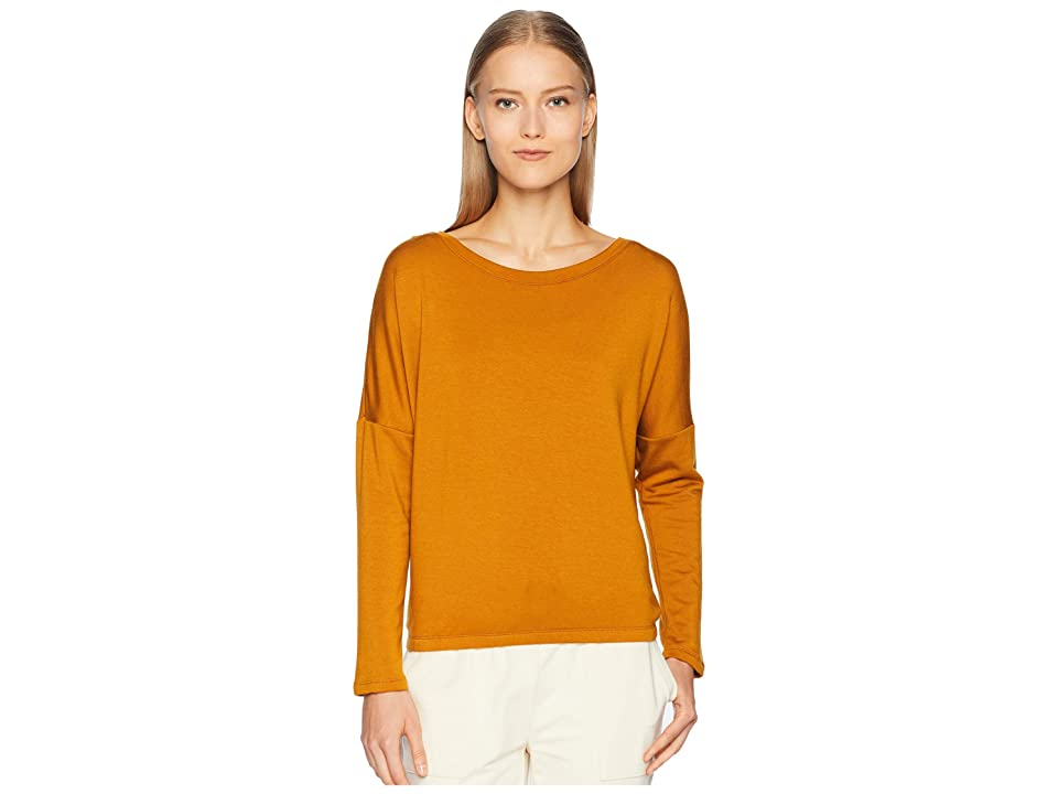 Eberjey Winter Heather The Slouchy Tee (Burnt Amber) Women