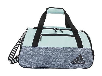 adidas Squad IV Duffel (Green Tint/Jersey Onix/Silver Metallic/Black) Duffel Bags