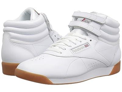 Reebok Lifestyle Freestyle Hi (White/Gum) Women
