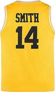 Lduk CL Youth Basketball Jerseys 14# Movie Jerseys for Kids Yellow/Black/Green