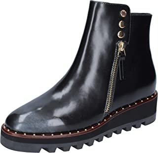 LIU JO Boots Womens Leather Black