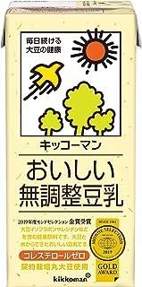 キッコーマン おいしい無調整豆乳 1000ml×6本