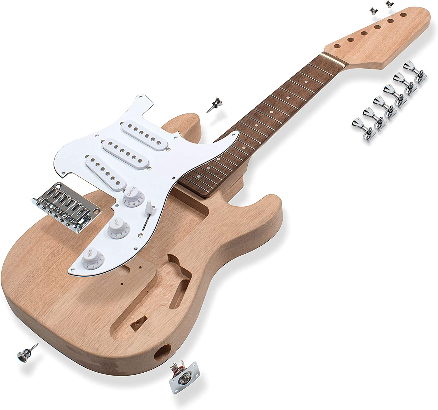 StewMac Mini S-Style Electric Kit 40% OFF Cheap Sale Guitar Now on sale