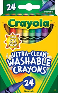Crayola - 24 ct. Ultra-Clean Washable Crayons - Regular Size
