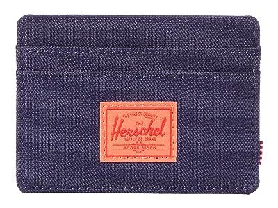 Herschel Supply Co. Charlie RFID (Peacoat/Hot Coral) Wallet Handbags