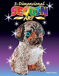 Sequin Art 3D-Large Lily Pug Arts & Crafts Kits