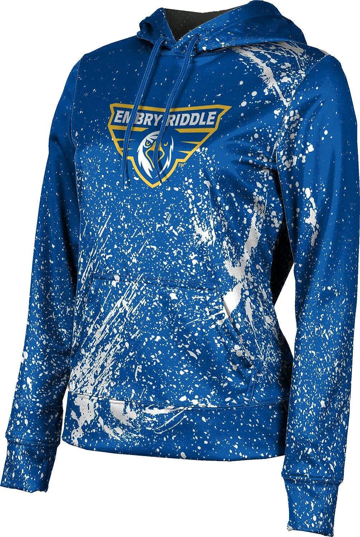 Embry-Riddle Aeronautical University Prescott Girls' Pullover Hoodie, School Spirit Sweatshirt (Splatter)