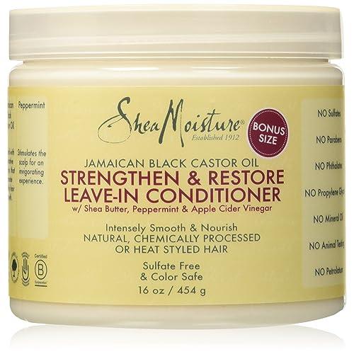 Shea Moisture Jamaican Black Castor Oil Strengthen Grow & Restore Leave-In Conditioner 453g