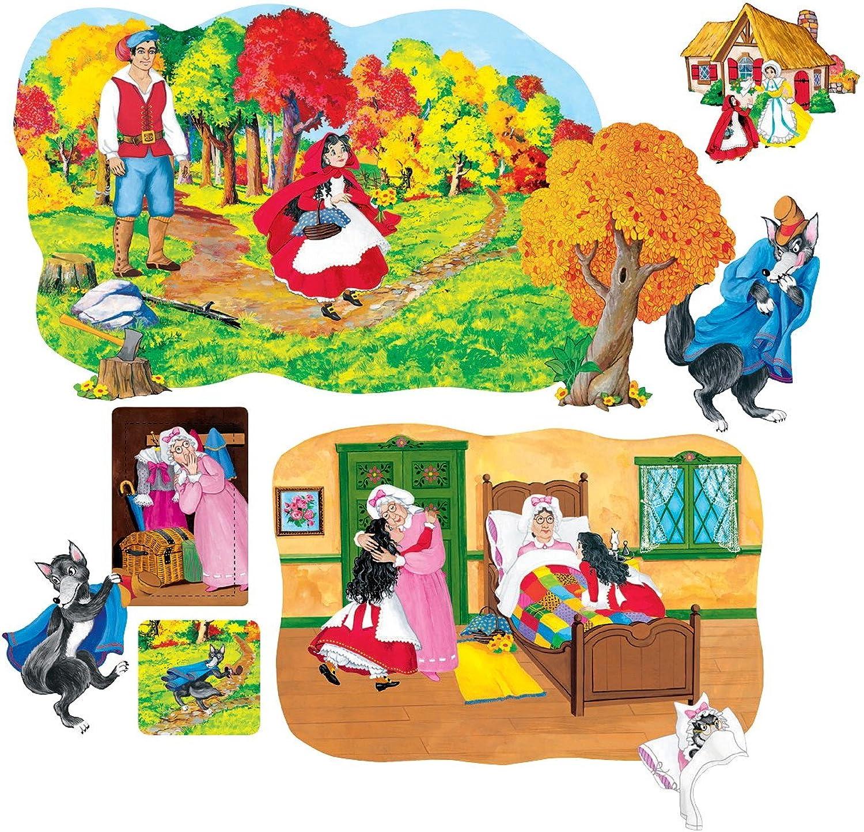 Little Red Riding Hood - Pre-Cut Flannelboard Figures