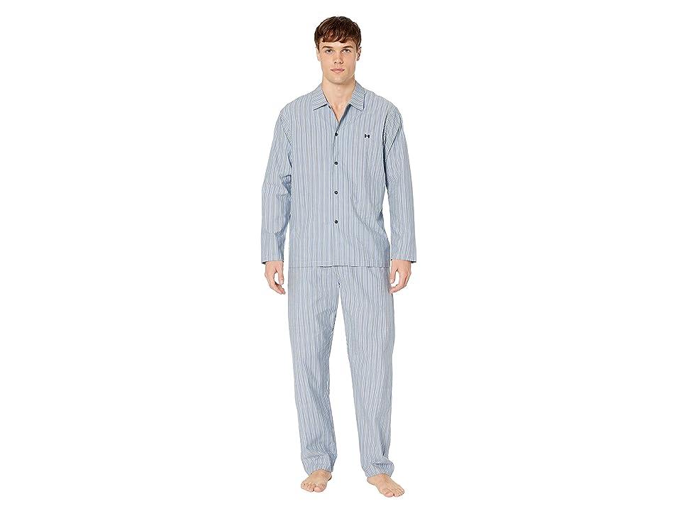 HOM Formentera Long Woven Sleepwear (Multicolor) Men