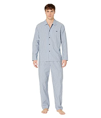 HOM Formentera Long Woven Sleepwear (Multicolor) Men