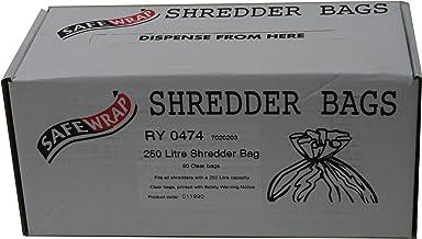 $38 » RY SAFEWRAP SHREDDER BAGS 250 LITRE PK50