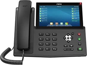 $139 » Fanvil X7 Enterprise VoIP Phone, 7-Inch Color Touch Screen, 20 SIP Lines, Power Adapter Not Included (Renewed)