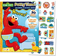 """Sesame Street """"Potty Time"""" Potty Training Coloring and Activity Set - With Progress Chart and Reward Stickers"""