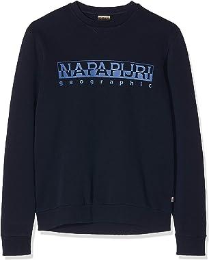 Napapijri Bevora C Blu Marine Sweat-Shirt Homme