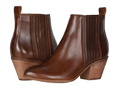 FRYE AND CO. Jacy Chelsea (Cognac Vintage Pull Up Leather) Women