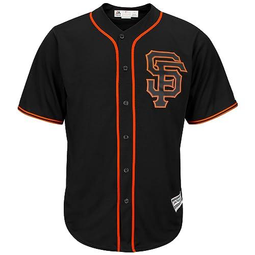 98a013c905d San Francisco Giants Alternate Black Cool Base Majestic MLB Jersey