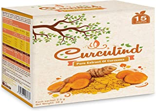 Curculind - Pure extract of curcuma - 4 Boxes - 60 sachet