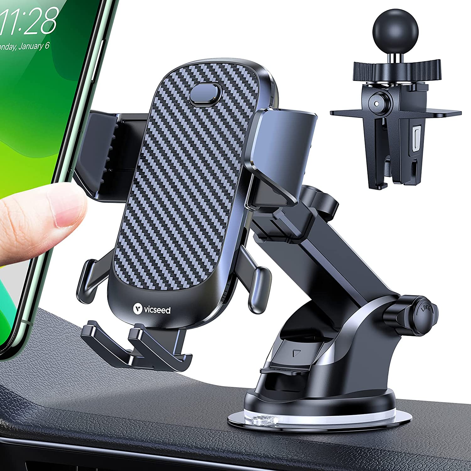 VICSEED ultra stable phone mount for ford escape