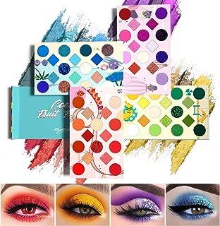 EYESEEK 64 Colors Eyeshadow Palette Professional High Pigmented Makeup Pallet Colorful Rainbow Color Makeup Eyeshadow Pale...