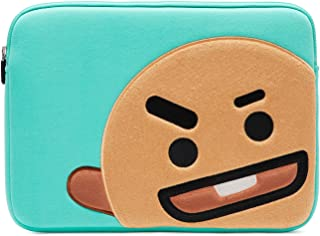 BT21 Official Merchandise by Line Friends - SHOOKY 13 Inch Laptop Sleeve Case Compatible with MacBook, iPad Pro, and 13