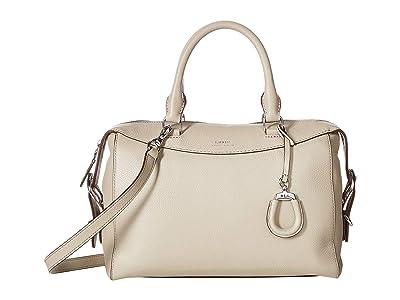 LAUREN Ralph Lauren Cornwall Satchel (Alpaca) Handbags