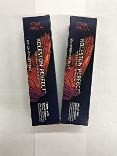 WELLA KOLESTON PERFECT (VIBRANT REDS) MEDIUM BLONDE/RED GOLD 7/43-2oz (PACK OF 2)