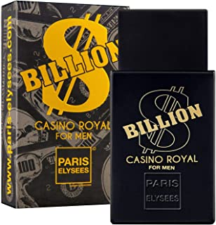 BILLION DOLLAR CASINO ROYAL Perfume para hombre Paris Elysees vaporizador 100 ml