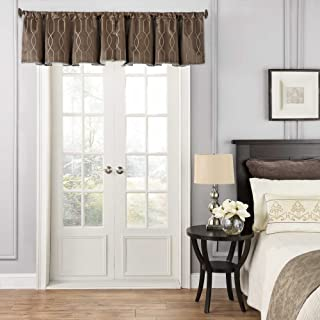 Beautyrest Blackout Window Valance, 16212048X018GOL, Dark Mushroom, 48 x 18