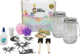 Fairy Lantern Craft Kit (2 Pack) | DIY Kits for Girls | Kids Crafts for Girls | Girl Toys Age 6 | Craft Kits | Top 10 Toys | Art Kit | Christmas Crafts for Kids | Arts and Crafts for Kids | Kids Gifts