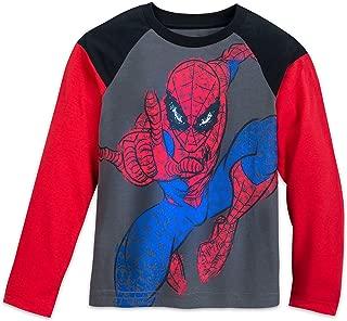 Marvel Spider-Man Raglan Shirt Kids Gray