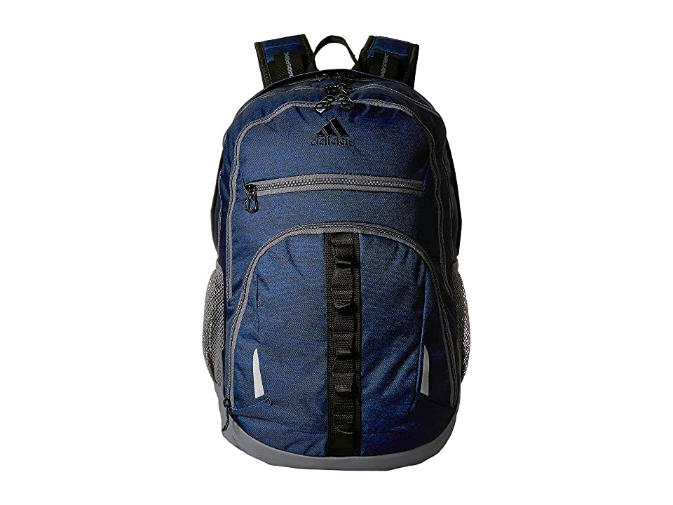 adidas Prime IV Backpack (Collegiate Royal Blue Jersey/Onix/Black) Backpack Bags