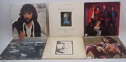 Classic Rock Lot of 6 Vinyl Record Albums Peter Frampton, Heart, Dan Fogelberg, Cat Stevens, Gary Morris, Don McLean,