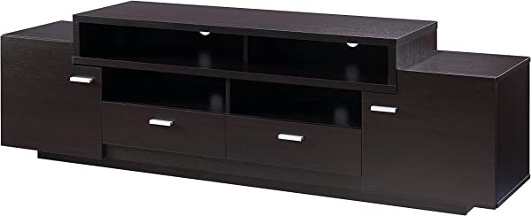 HOMES Inside Out IDI 141009 Allen TV Stand Cappuccino