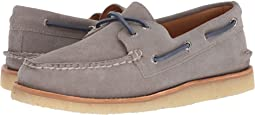 Sperry Gold A/O 2-Eye Crepe Suede