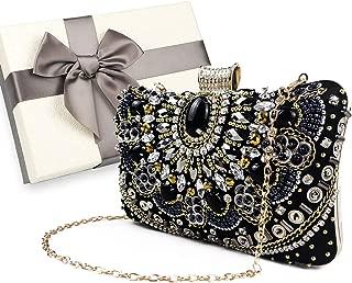 Womens Evening Clutch Bag Designer Evening Handbag,Lady Party Wedding Clutch Purse, Great Gift Choice