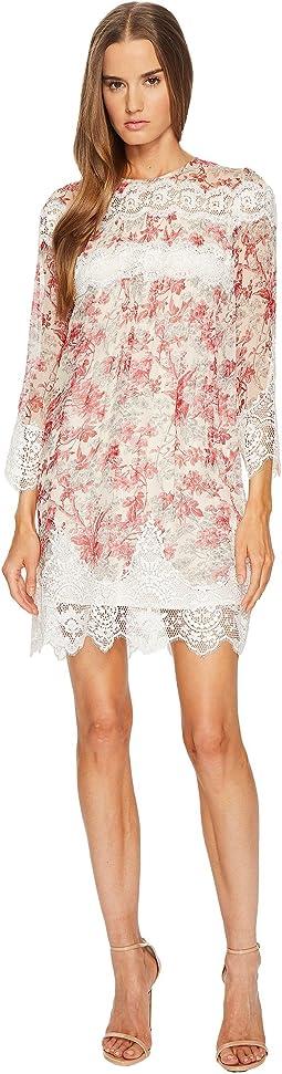 The Kooples - Long Sleeve Printed Dress