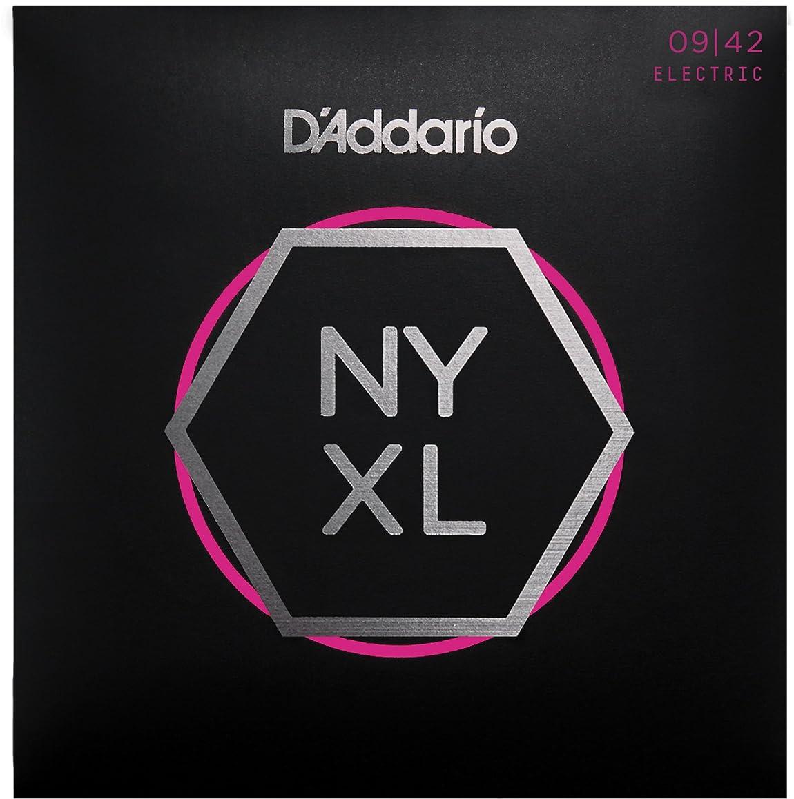 集まる環境に優しい検出するD'Addario ダダリオ エレキギター弦 NYXL SuperLight .009-.042 NYXL0942 【国内正規品】