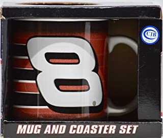 2005 - Action/Winner's Circle - Dale Earnhardt Jr #8 - Mug and Coaster Set - NASCAR - Mint - Collectible - New