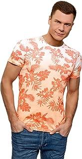 oodji Ultra Men's Gradient Print T-Shirt