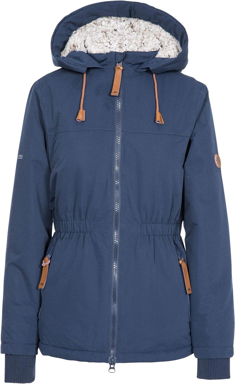 New sales Cassini Women's Fleece Lined Padded Jacket NAVY - M Regular discount