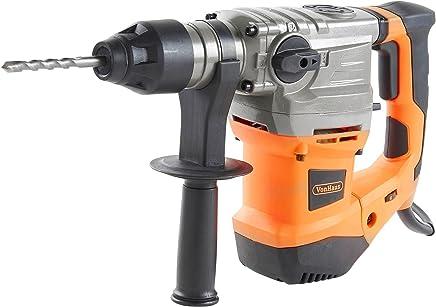 VonHaus Martello Perforatore 1500W SDS 240V - Completo con punte da Trapano SDS 8/10/12mm - 2 punte da scalpello e Custodia - 3 Funzioni rotativa, rotativa con impatto e scalpello